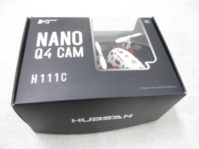 HUBSAN NANO Q4 CAM ナノQ4カム RTFキット 2.4GHz