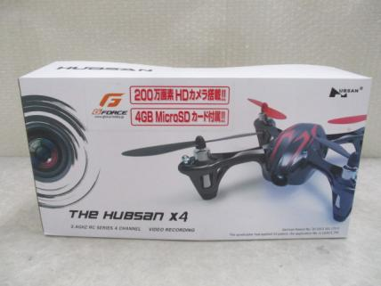 G-FORCE HUBSAN X4 HD 2.4GHz 赤